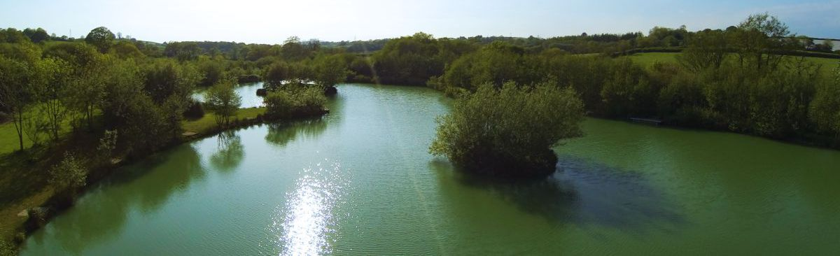 Carp Fishing Lake South Devon